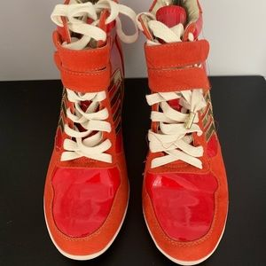 Shoes - Wedge sneakers brand new never worn